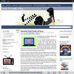 Favorite Web Tools of 2014