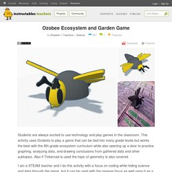 Ozobee Ecosystem and Garden Game: 5 Steps