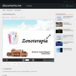 ozonoterapia - Documents
