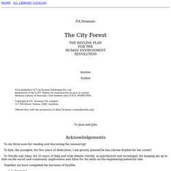 The City Forest - P.A.Yeomans