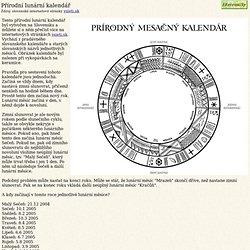 Přírodní lunární kalendář