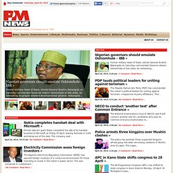 P.M. NEWS Nigeria | First with Nigerian News