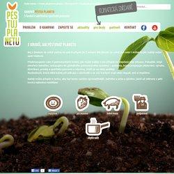 5 kroků, jak pěstovat planetu