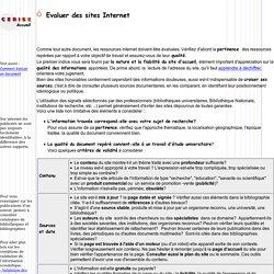 p361.htm evaluer des sites internet