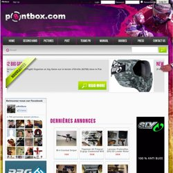 p8ntbox 100% de news paintball