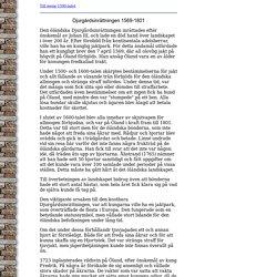 Djurgårdsinrättningen på Öland