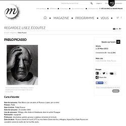 Découvre Pablo Picasso