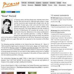 """Pablo Picasso — """"Rose"""" Period"""