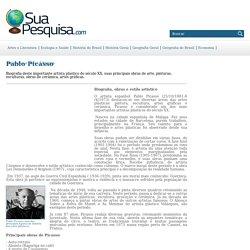 Pablo Picasso - vida e obras