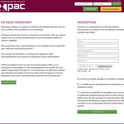 www.pac-recrutement.com: Mon Profil Candidat