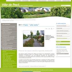 """Pacé, """" ville verte """" - ville de Pacé en Ille-et-vilaine (35)"""