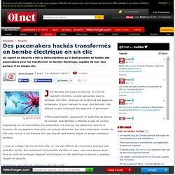 Des pacemakers hackés transformés en bombe électrique en un clic