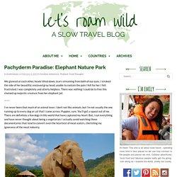 Pachyderm Paradise: Elephant Nature Park - Let's Roam Wild