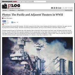 The Pacific and Adjacent Theaters in WWII