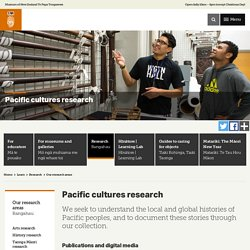 Pacific cultures research