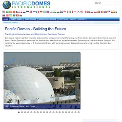 Pacific Domes - Geodesic Domes