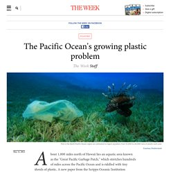 The Pacific Ocean's growing plastic problem