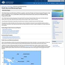 Pacific Sea Level Monitoring Project