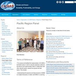 Pacific Region Panel