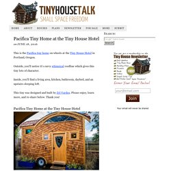Pacifica Tiny Home at the Tiny House Hotel