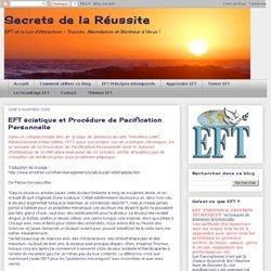 EFT sciatique et Procédure de Pacification Personnelle