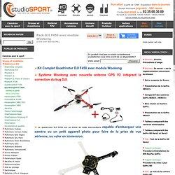 Kit Complet Quadrirotor DJI F450 avec module Wookong - Caffeine Security Secured
