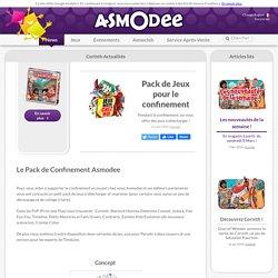 Pack de Jeux pour le confinement - Asmodee