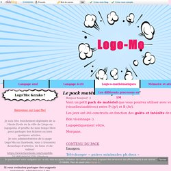 """Le pack matériel """"confusions P/B"""" - Logo-Mo"""