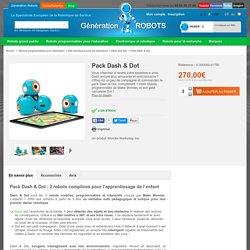 Pack robots éducatifs Dash & Dot