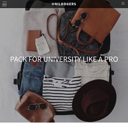 Pack for University like a Pro - The Story