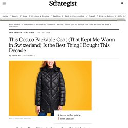 Costco Andrew Marc Packable Down Coat Review 2019
