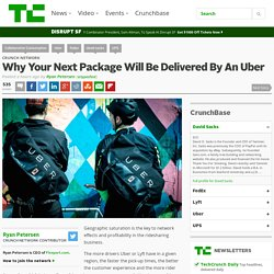Why Your Next Package Will Be Delivered By An Uber