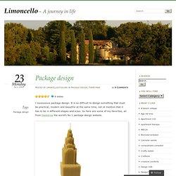Package design « Limoncello