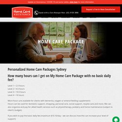 Home Care Package Eastern Suburbs Sydney