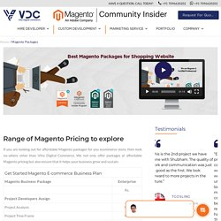 Magento Packages for ECommerce Development □ Easy Pricing □