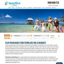 Fiji Packages for Families on a Budget