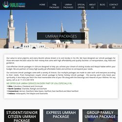 Best Umrah Packages from USA to Saudia Arabia