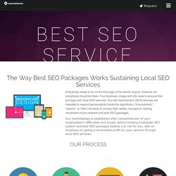Best SEO Packages Works Sustaining Local SEO Services