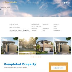 New House and Land Packages Sydney