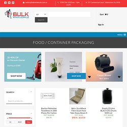 Food Packaging Containers - Bulk WholeSale