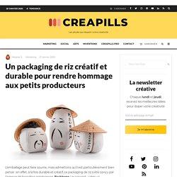 Un packaging de riz créatif et durable pour rendre hommage aux petits producteurs