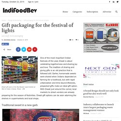 Gift packaging for the festival of lights - IndiFoodBev