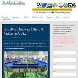 Nutritional Supplement Packaging