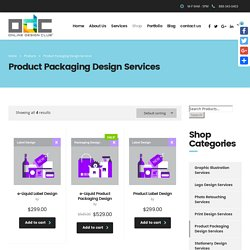Product Packaging Design Services