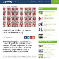 Icone del packaging: un viaggio nella storia con Packly