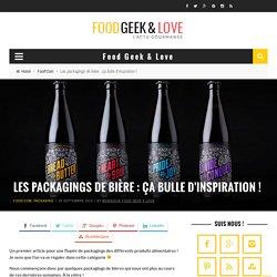 Les packagings de bière : ça bulle d'inspiration