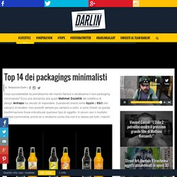 Top 14 dei packagings minimalisti - DARLIN Magazine