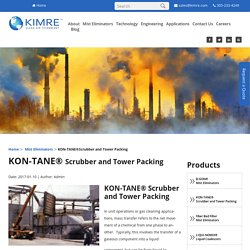 Contact For Packed Tower Scrubber - Kimre Inc