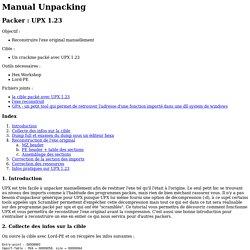 Packer : UPX 1.23