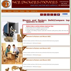 List of Best Packers and Movers in Delhi